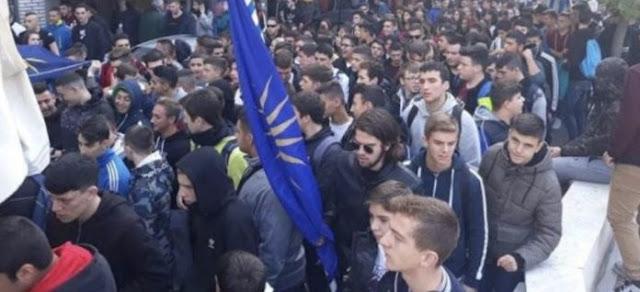 Καταλήψεις Λυκείων σε πέντε νομούς για την Ελληνικότητα της Μακεδονίας