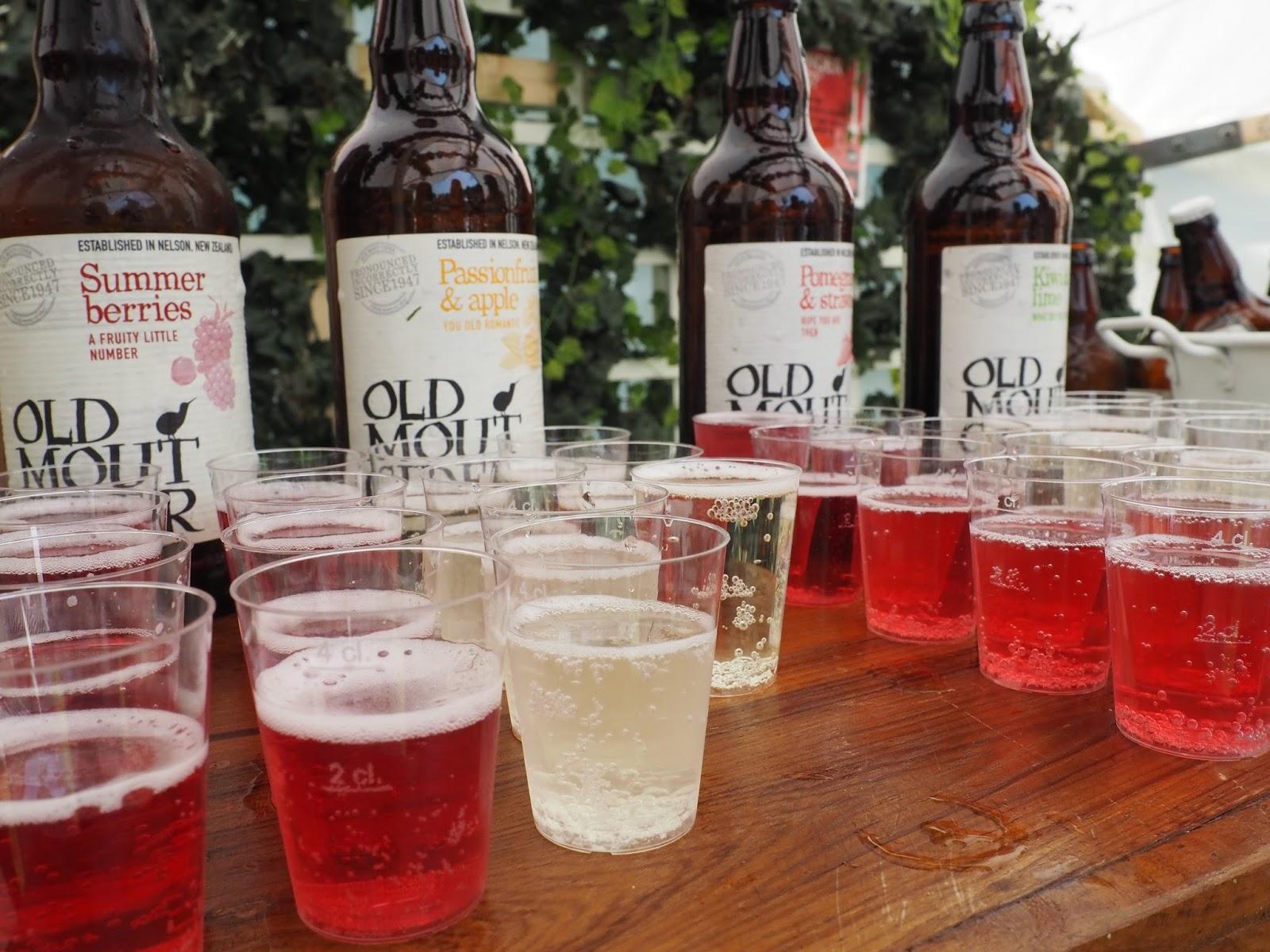 Foodies festival Birmingham Old Mout cider