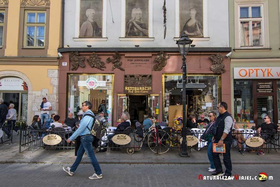 Restaurante Pod Aniolami, Cracovia