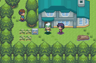 Pokemon Emerald Beautiful Remade para GBA Villa Raiz