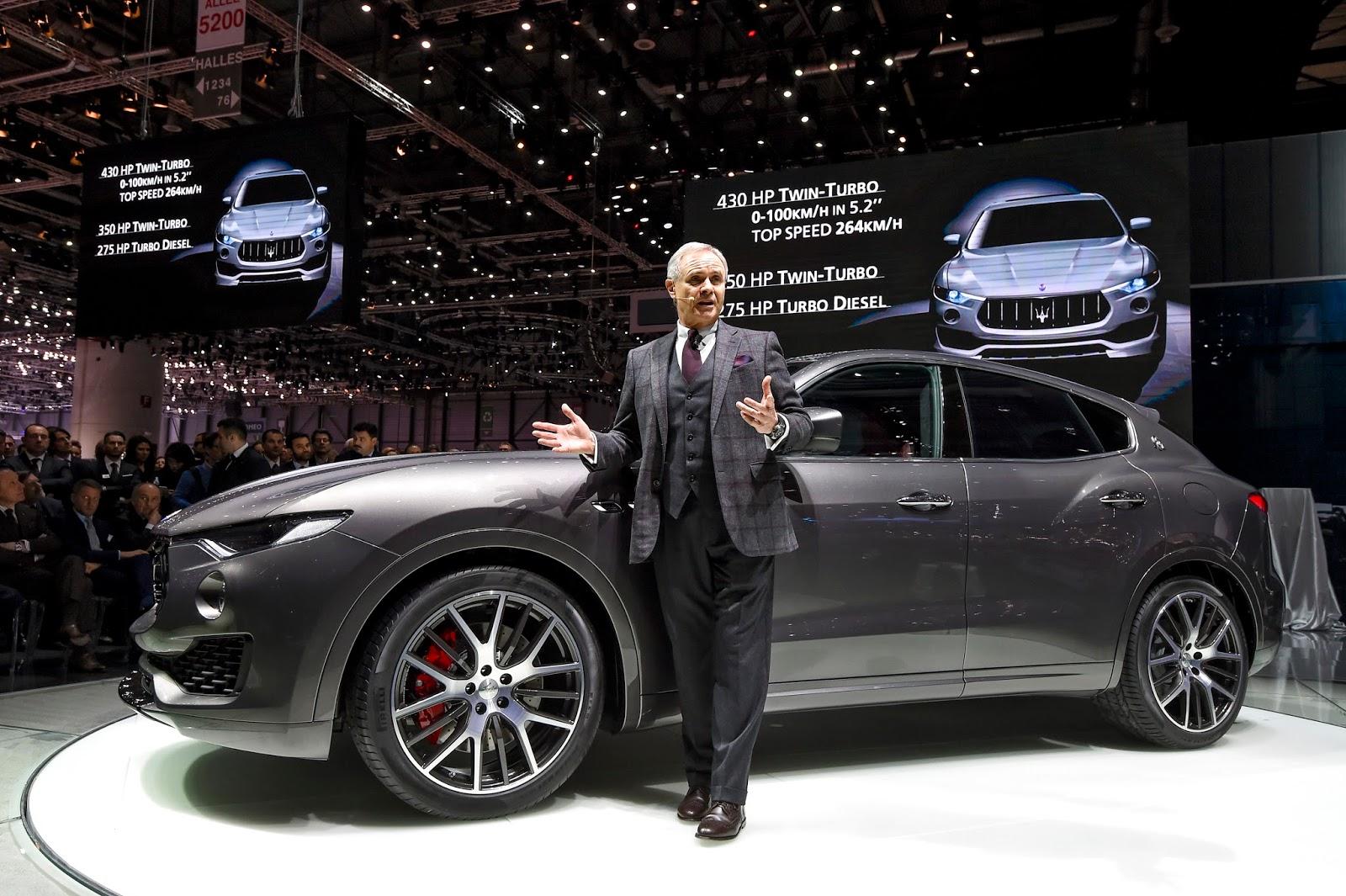 56d5807e9042c Τα πάντα για το πρώτο SUV της Maserati autoshow, Maserati, Maserati Ghibli, Maserati Ghibli S, Maserati Ghibli S Q4, Maserati GranTurismo, Maserati Levante, Maserati Levante S, Maserati Quattroporte, zblog