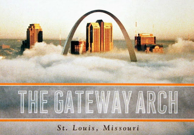 pocztówka St.Louis