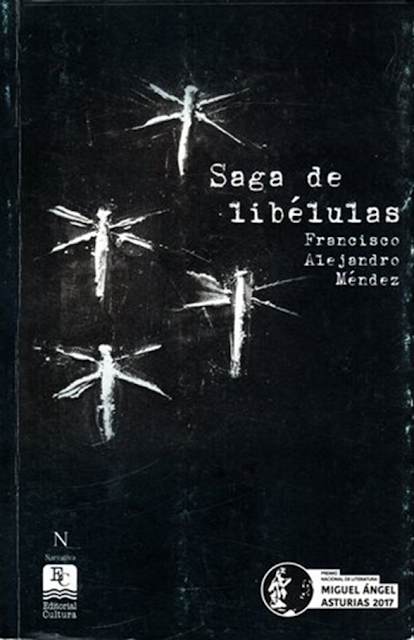 Portada de Saga de libélulas de Francisco Alejandro Méndez