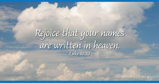 Catholic Daily Reading + Reflection: 3 October 2020 - Rejoice That Your Names Are Written In Heaven