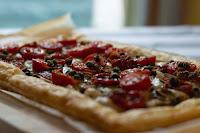 Mediterranean tart [vegan!], imogen molly, www.imogenmolly.co.uk