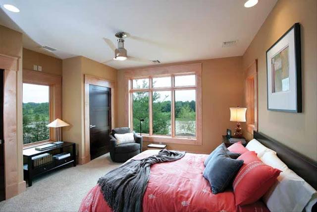 แบบห้องนอนปูพรมตกแต่งสวย