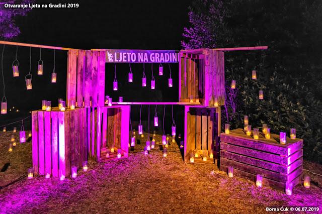 Otvaranje ljeta na gradini 2019 uz 5000 svijeća 06.07.2019