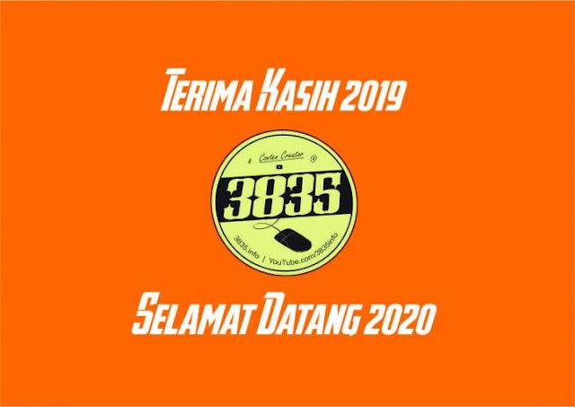 Terima Kasih 2019 Selamat Datang 2020