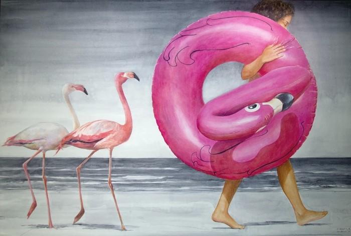 Бразильский художник-реалист.