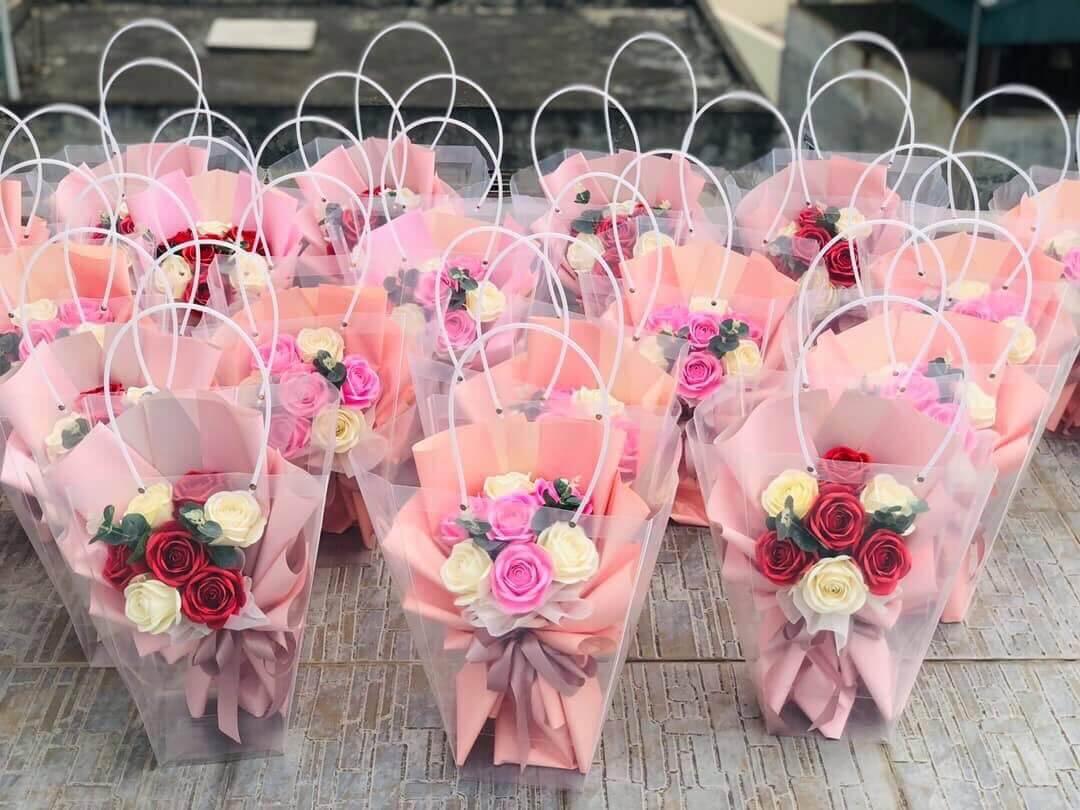 Bó hoa hồng 7 bông
