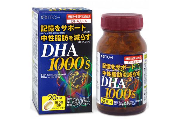 Viên dha Itoh DHA 1000mg
