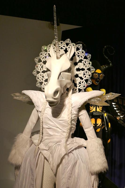 Unicorn costume Masked Singer