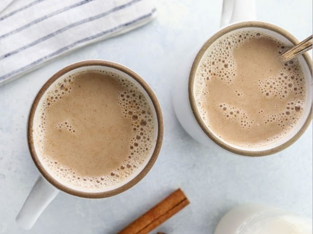 Maple Chai Tea Latte #drinks #latte