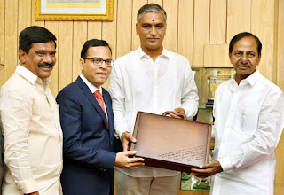 Telangana Government Signed MoU with SAP India