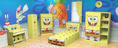 Desain Kamar Tidur Bertema Kartun Terbaru