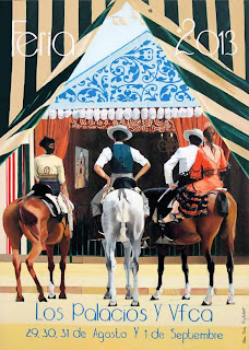 Los Palacios - Feria 2013 - Paseo de caballo - Rosa María Gilabert González