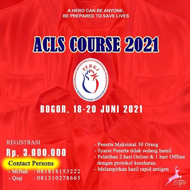 Pelatihan ACLS 2021 PERKI Bogor