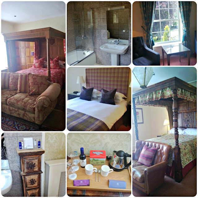 Wentbridge House Bedrooms and Bathrooms