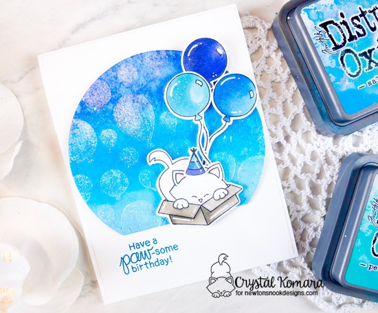 Have a paw-some birthday by Crystal features Newton's Antics, Fabulous Frenchies, and Balloons by Newton's Nook Designs; #newtonsnook