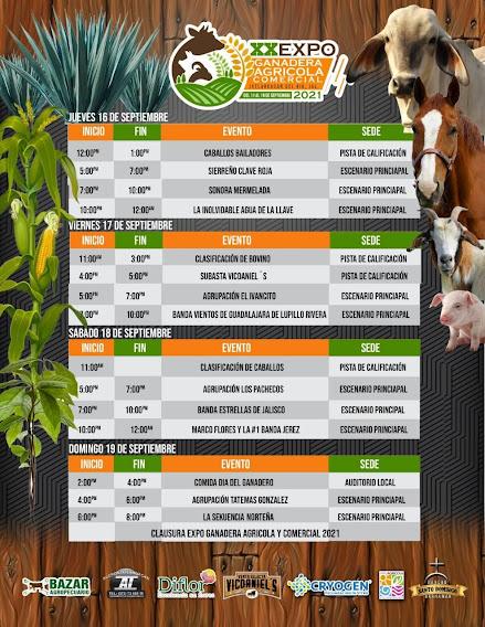 programa expo ganader ixtlahuacan 2021