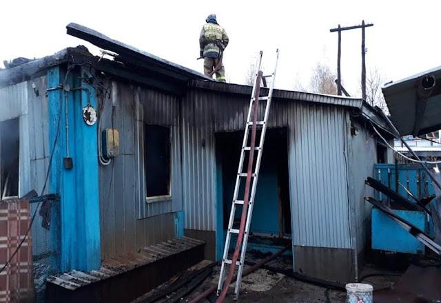 В Башкирии в сгоревшем доме нашли тело ребенка