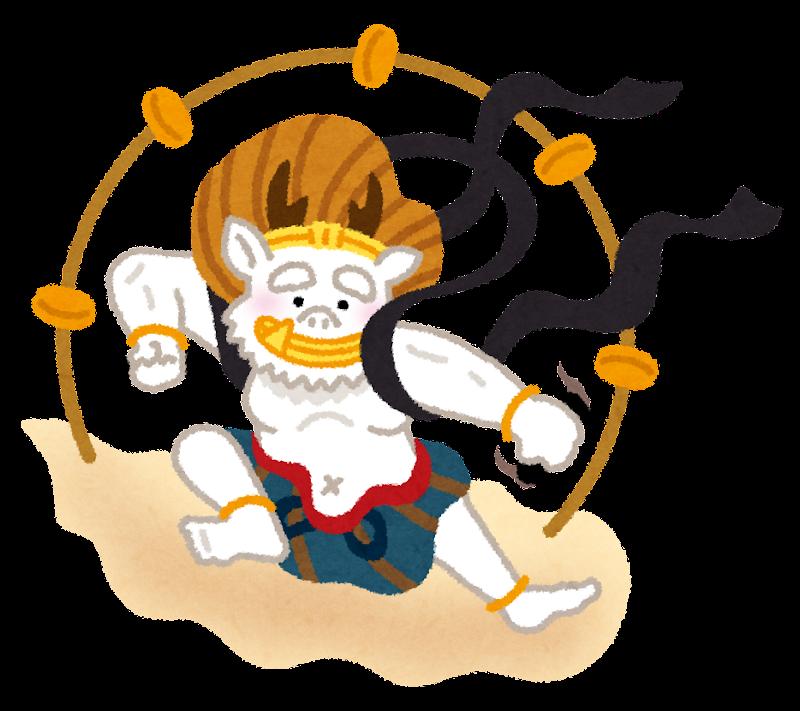 character_raijin.png (800×711)