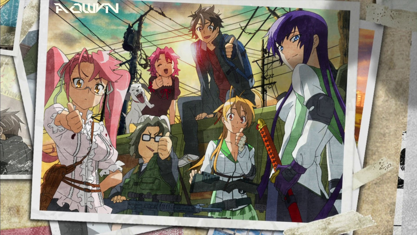 AowVN%2B%25282%2529 - [ Anime 3gp Mp4 ] Highschool of the Dead Bluray | Vietsub - cực cuốn