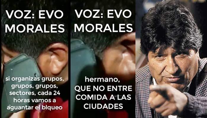 Imputan a Evo por terrorismo y él dice que el audio fue alterado -  Anoticia2 Bolivia