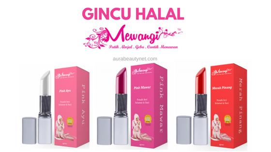 Gincu Halal  Mewangi