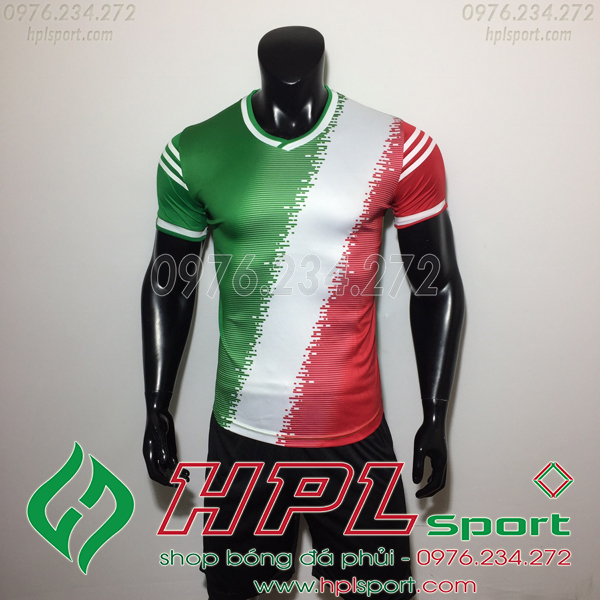 Áo bóng đá không logo TL HML Vidad  màu đỏ