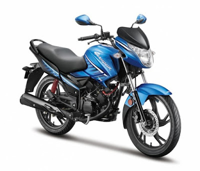 All New Hero Glamour 125 motorcycle