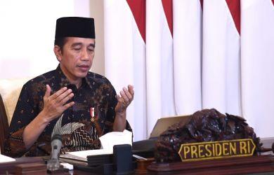 Jokowi Ngarep Pandemi Corona Segera Berlalu Agar Bisa Melepas Rindu