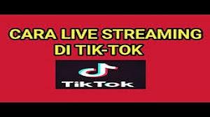 Cara Live di TikTok