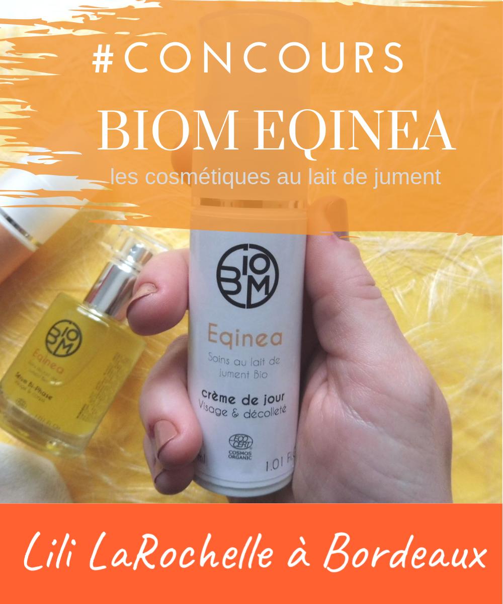 Biom Eqinea #concours - Par Lili LaRochelle à Bordeaux