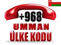 +968 Umman ülke telefon kodu