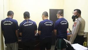 Pekan Ini di Garut, Enam Tersangka Pengguna Sabu-sabu Berhasil Ditangkap