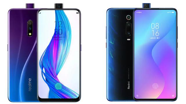 Realme X price in India,Realme X specifications,Realme X,Redmi K20 price in India,Redmi K20 specifications,Redmi K20,Realme,Xiaomi,Redmi,