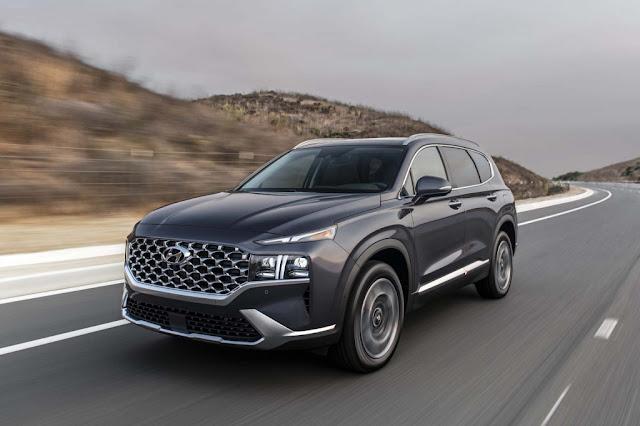 2021 Hyundai Santa Fe Preview