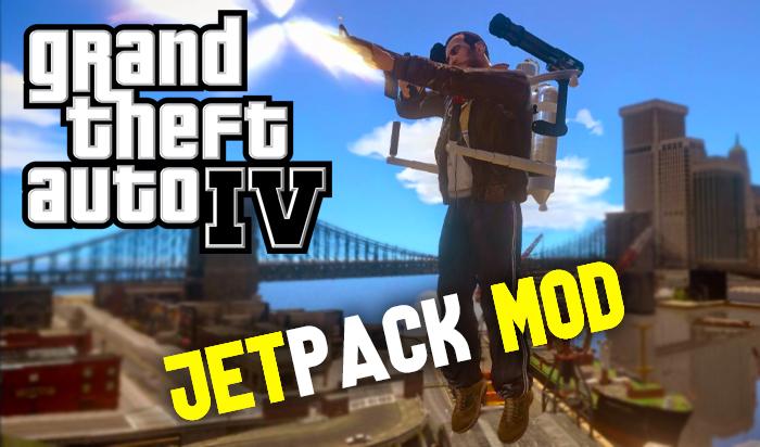 GTA IV Jetpack Mod   You Should Download 2021 GTA 4 MOds