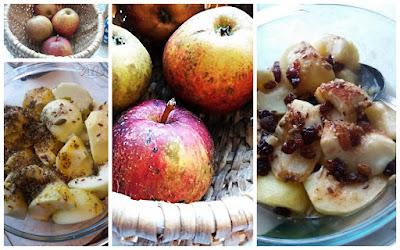 jabłka szara reneta jabłka zapiekane
