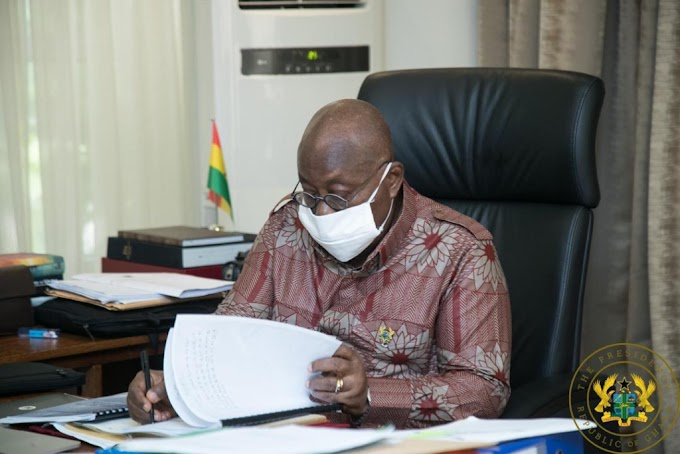 Akufo-Addo to resume work on Monday, July 20 after 14 days isolation