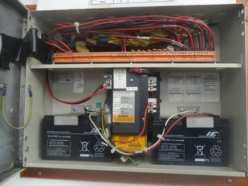 Installation / additional resistors on all unused output control. Because the resistor as the end of the line representing the zone system. Avoid general fault indication.