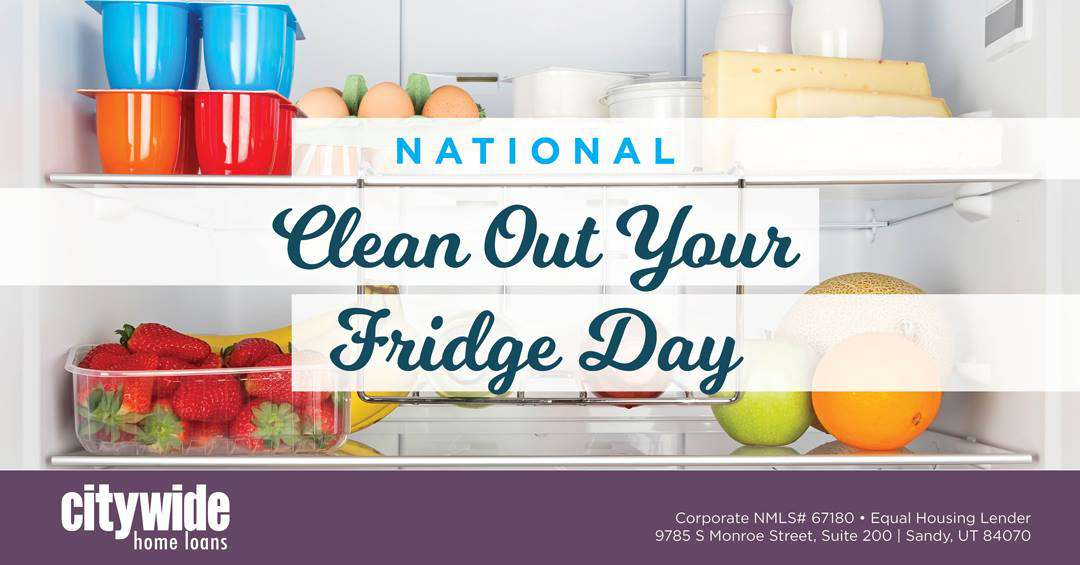 National Clean Out Your Fridge Day Wishes Beautiful Image