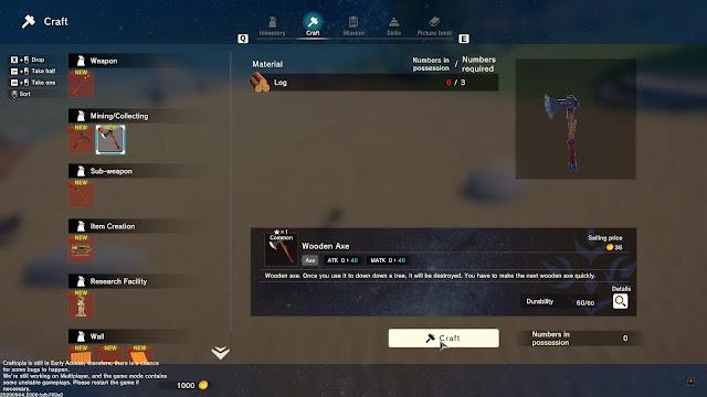 Screenshot Gameplay Craftopia PC