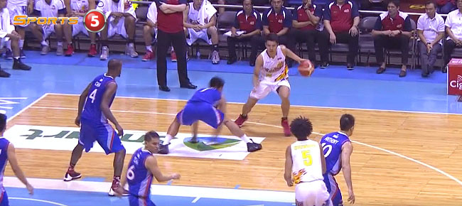 James Yap with the NASTY Move On Bradwyn Guinto (VIDEO)