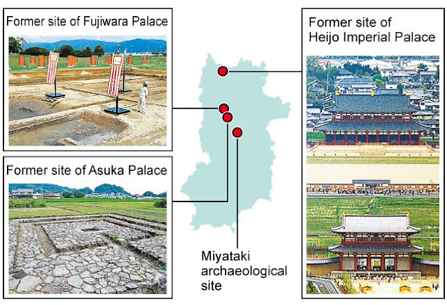 Ruins of ancient palace likely found beside river in Japan's Nara