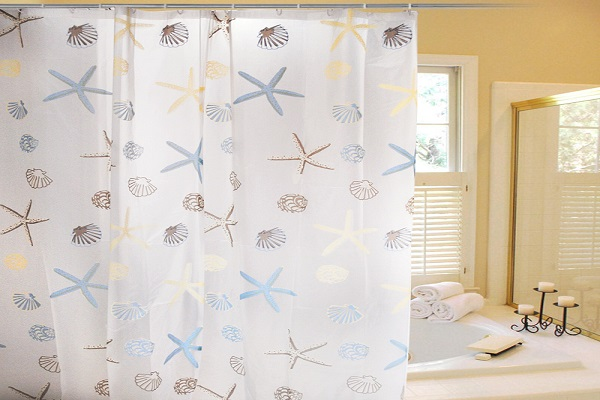 Cách vệ sinh rèm phòng tắm