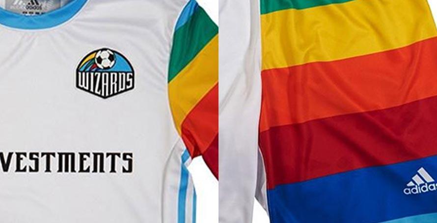 sports shoes ee3f2 36794 Insane Adidas Sporting Kansas City 2018 Retro Kit Released ...