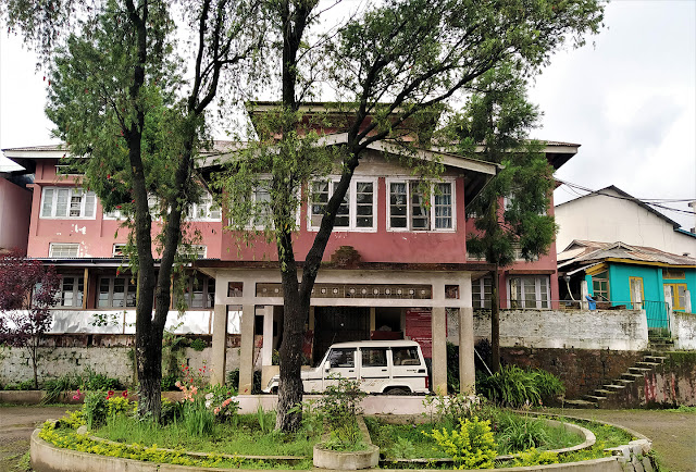 A beautiful sight - Kohima Law College Building