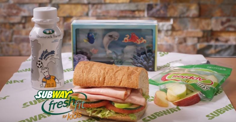 A Geek Daddy Subway Collectible Finding Dory 3d Scene Makers